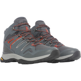The North Face Hedgehog Fastpack II WP Mid-Cut Schuhe Herren asphalt grey/flare